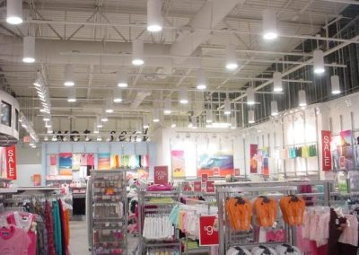 Retail Store Power & Lighting