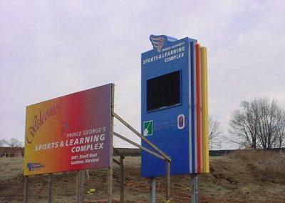 Sports Complex Sign Board