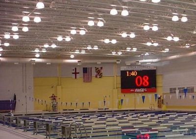 Swim Center Score Board